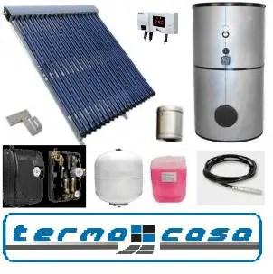 panou solar termocasa cu absorbtie directa