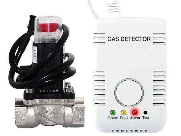 detector de gaz si electrovalva pret