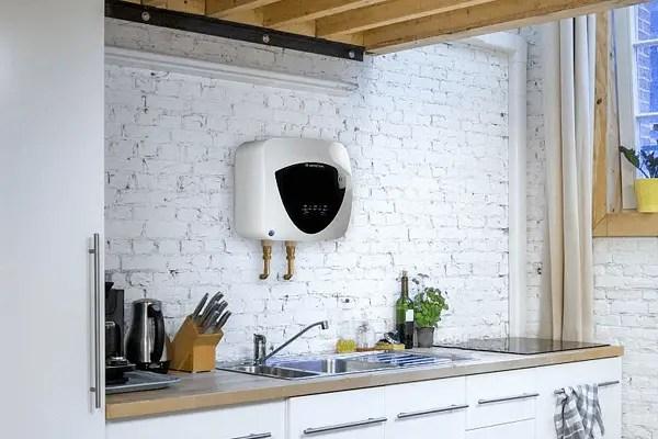 boiler electric deasupra chiuvetei sau sub chiuveta