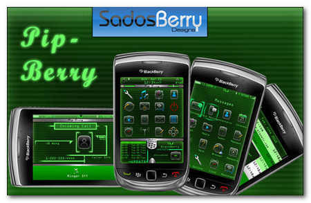 Tema Pip Berry Blackberry Torch 9800