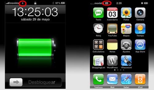 Bateria baja iphone
