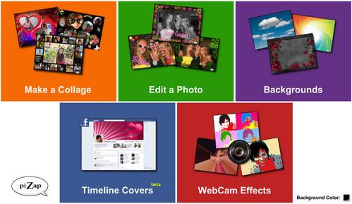 pizap editor de fotos