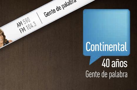 """Radio Continental y su campaña """"Gente de Palabra"""""""