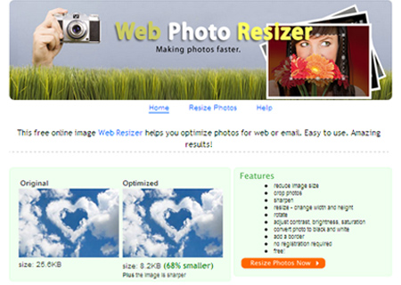 Web Photo Resizer
