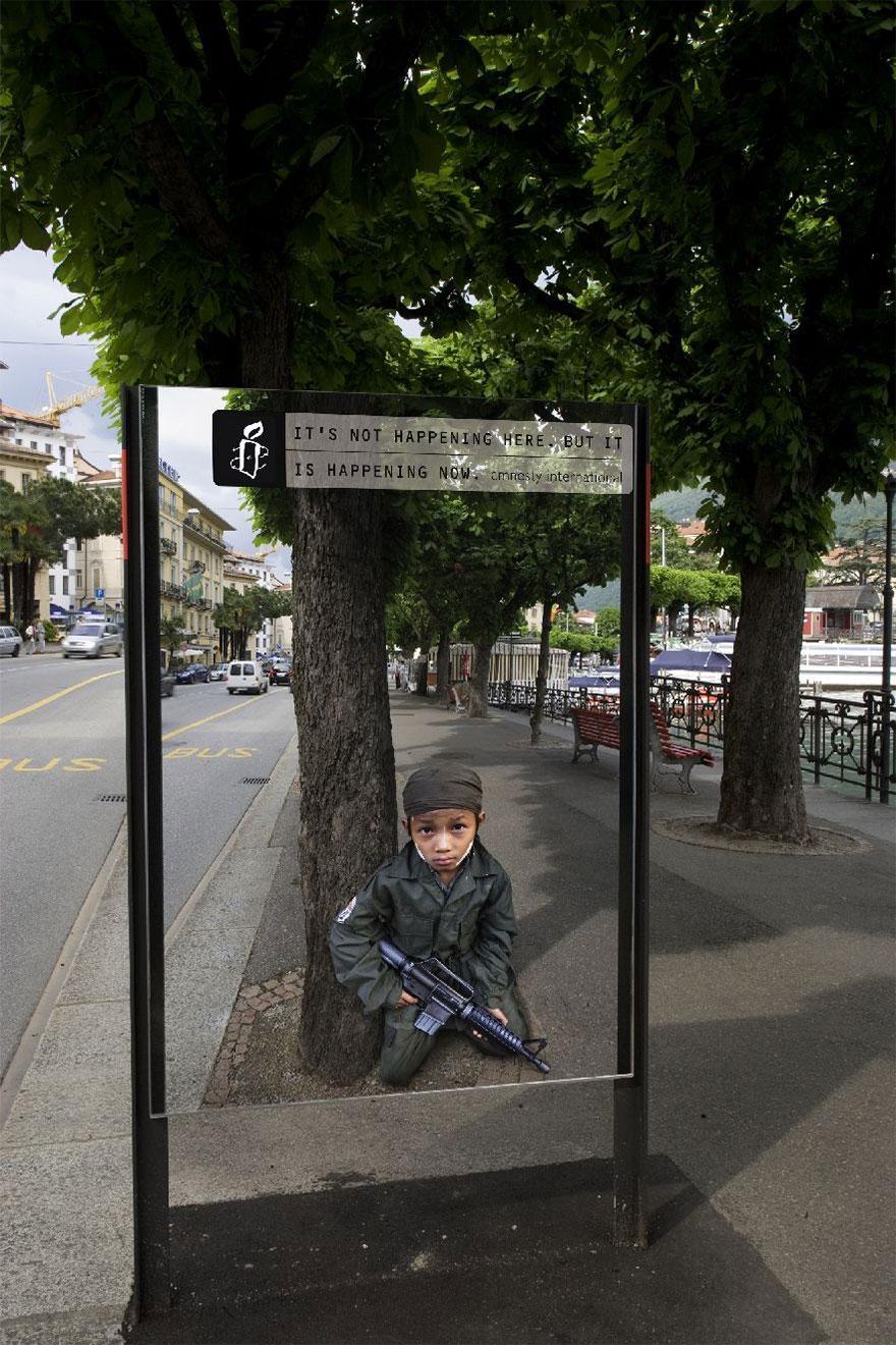 Niños Soldados: No es pasando aquí, pero está sucediendo ahora
