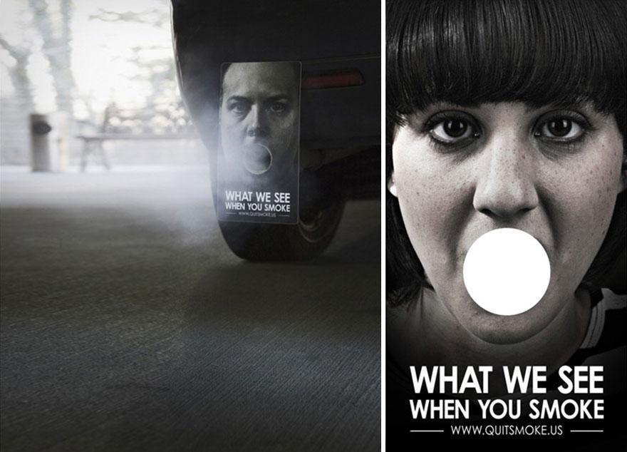 Lo que vemos cuando fumas