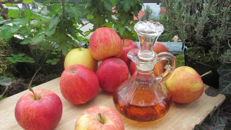 vinagre de manzana salud