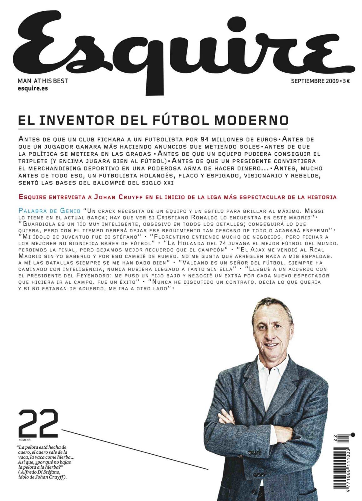 Andrés Rodríguez, Esquire, Periodismo
