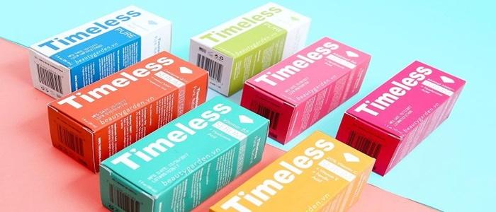 Top 5 serum Timeless dưỡng da