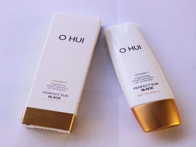 Kem chống nắng OHUI Perfect Sun Black chính hãng