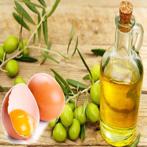Mẹo giúp tóc mọc nhanh với dầu oliu và trứng