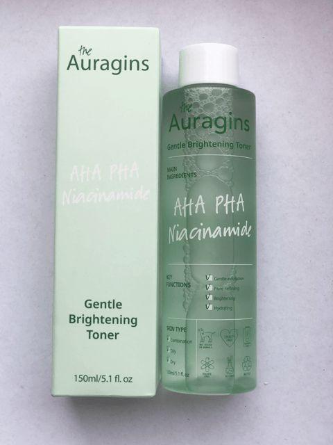 Nước hoa hồng dưỡng sáng da The Auragins