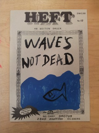 Noch viel individueller gestaltetes Cover von Heft #12