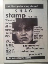 Shag Stamp #5 (1995)
