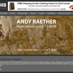"[EXCLUSIVO] Crítica do filme ""Andy Raether Climbing Video"""