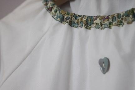 Patron couture Enfant - Blouse/Chemise de nuit à col pierrot