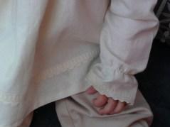 Patron couture Bébé - Guimpe à col pierrot