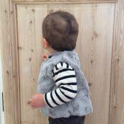 Patron couture Bébé Gilet sans manches - Eridan