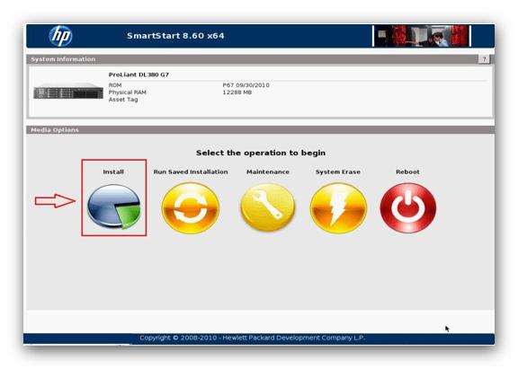 Instalar Windows Server HP Smartstart