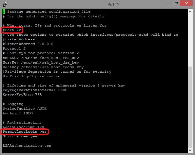 Securizar SSH