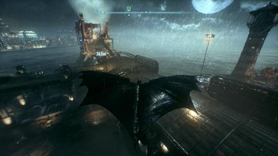Captura de Batman: Arkham Knight (2015)
