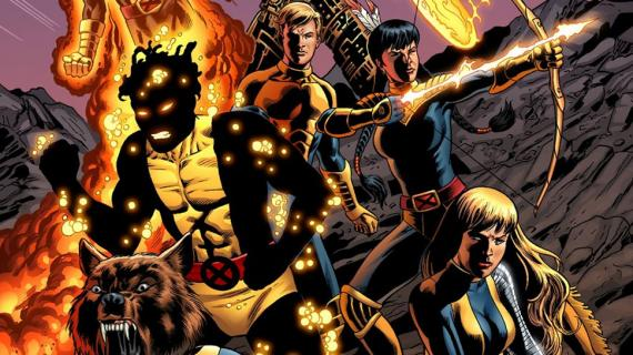 New Mutants en los cómics