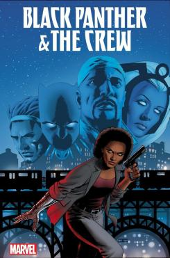 Portada de Black Panther and the Crew