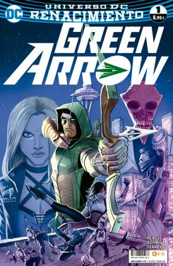 Portada de Green Arrow Vol. 2 núm. 1 (Renacimiento)