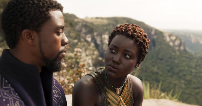 Image of Black Panther (2018), Nakia and T'Challa