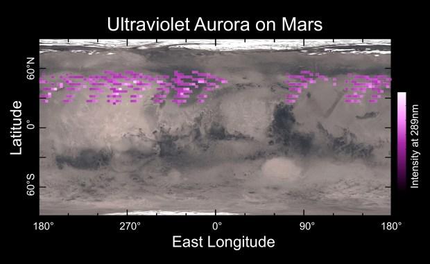 aurore-pe-marte-spectrul-ultraviolet