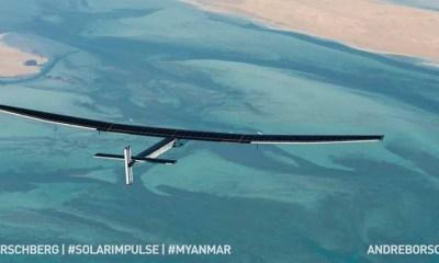 Solar Impulse 2 in zbor catre Myanmar