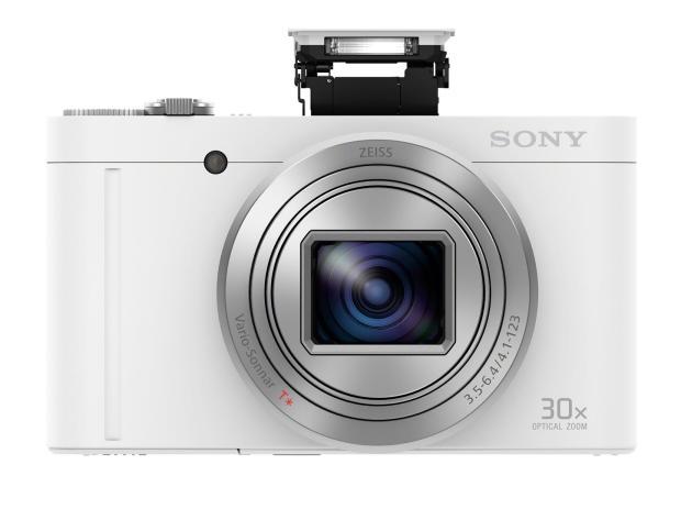Sony WX500 White Flash