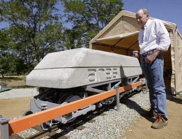 ARES utilizeaza trenuri pentru a stoca energie