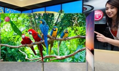 LG lansează un nou display OLED