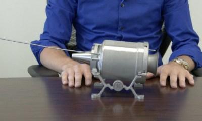 General Electric motor printat 3D