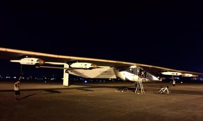 SolarImpulse2 aterizează la Nagoya