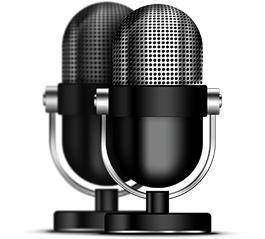 2 microfoane