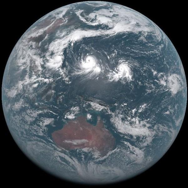 Pământul văzut de Himawari 9