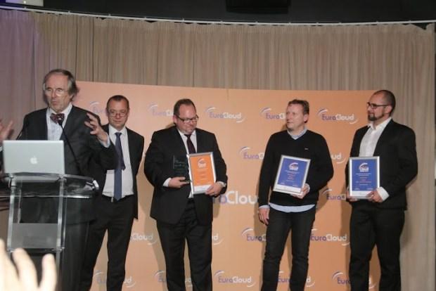 Europe's TOP 3 @ EuroCloud Awards