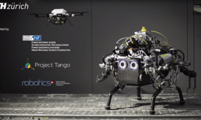 robot si drona