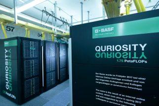 Der Supercomputer der BASF hat seinen Betrieb in Ludwigshafen au