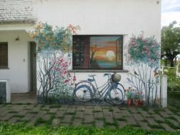 Mural en la pared en 25 de Agosto Uruguay