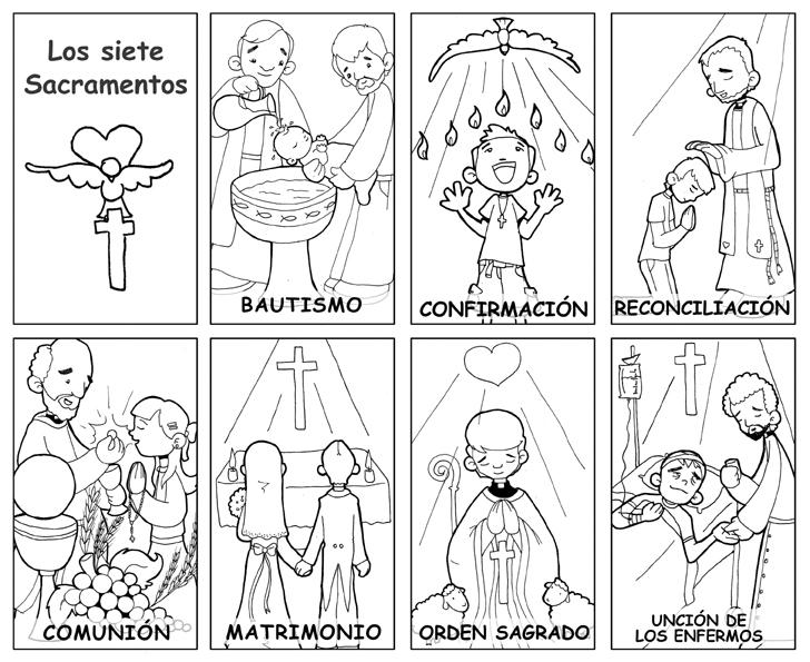 Dibujos catequesis (colorear) (2/6)