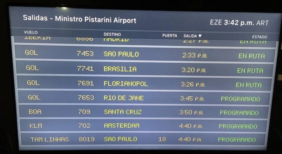 FlightBoard for Apple TV