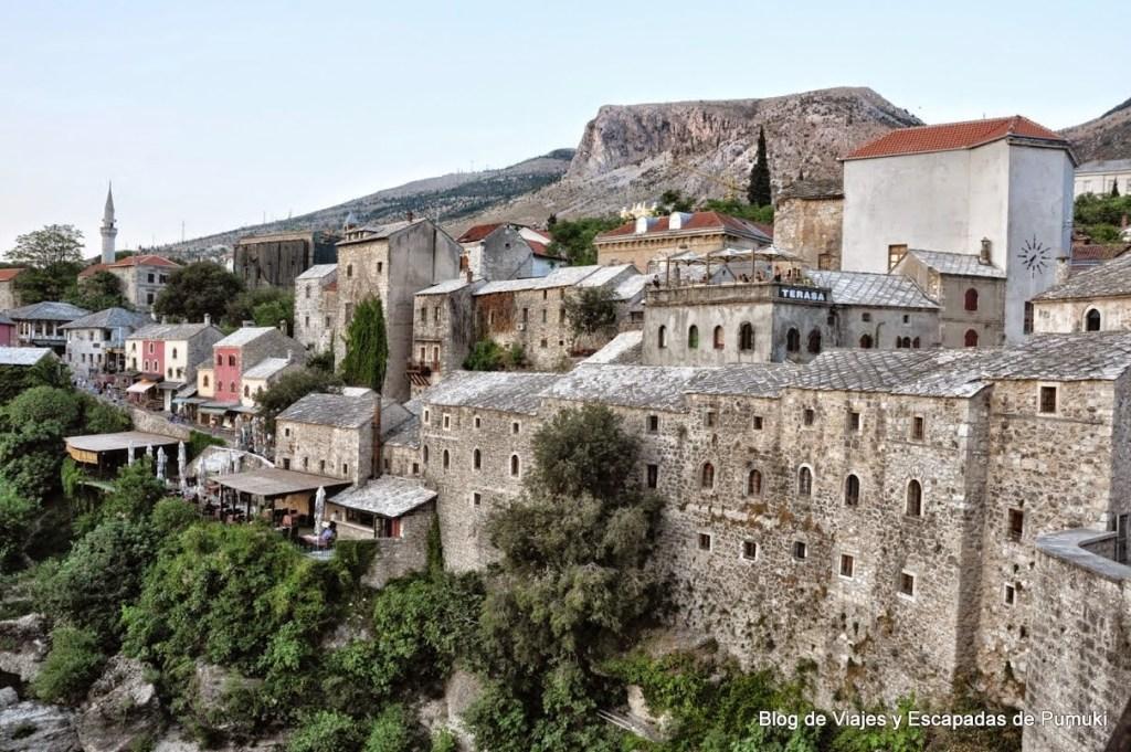 Lado católico de Mostar
