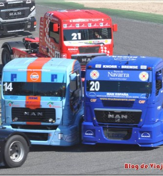 Un Día en las Carreras de Camiones en el Circuito del Jarama de Madrid