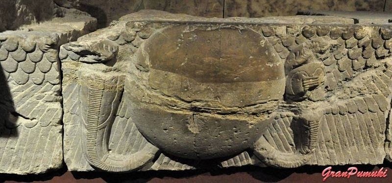Detalle del interior del Templo de Deod
