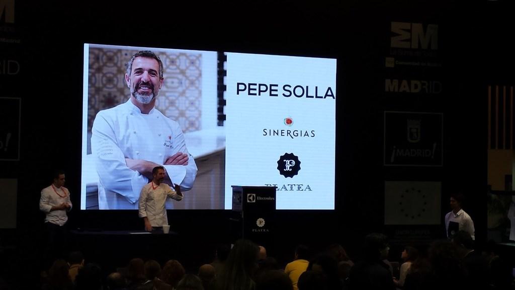 Charla de Pepe Solla en FITUR