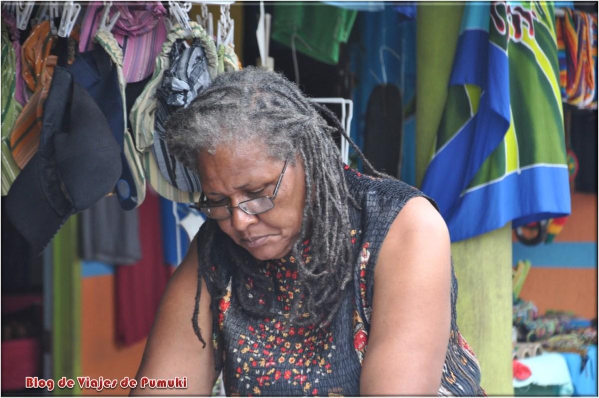 Gente del pueblo de Tortuguero