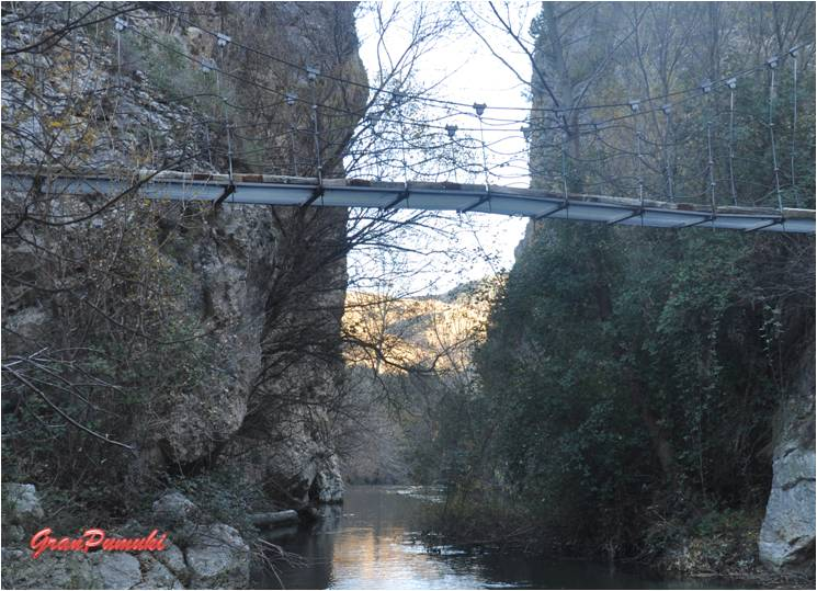 Ruta de la pasarela en Castril, turismo rural en Granada